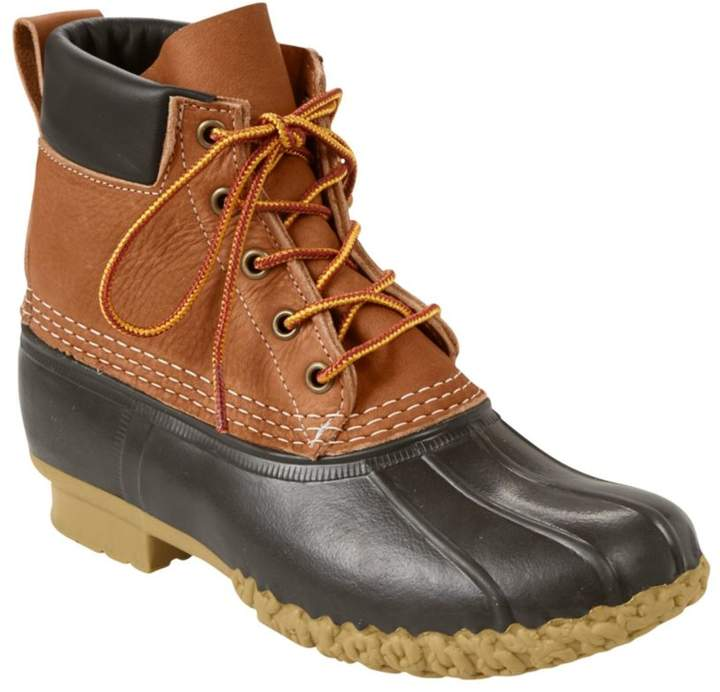 """Women's Tumbled-Leather L.L.Bean Boots, 6"""" Padded Collar"""