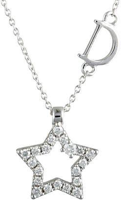 Damiani 18K 0.12 Ct. Tw. Diamond Necklace