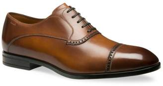 Bally Lamior Cap Toe Leather Dress Shoes