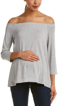 Hatch Maternity The Off-Shoulder Jersey T-Shirt