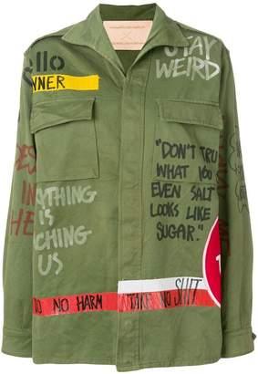 Night Market boxy military jacket