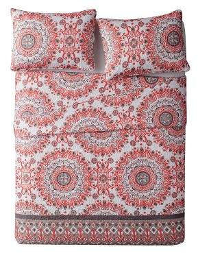 VCNY Coral Reversible Quilt Set - VCNY®