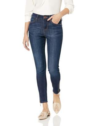 7 For All Mankind Seven7 Women's MID Rise Signature Ankle Skinny W/Zipper