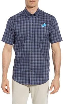 Cutter & Buck Detroit Lions - Fremont Regular Fit Check Sport Shirt