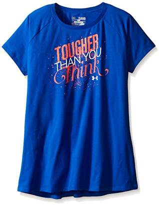 Under Armour UA Girls Tougher Than You Think Short Sleeve