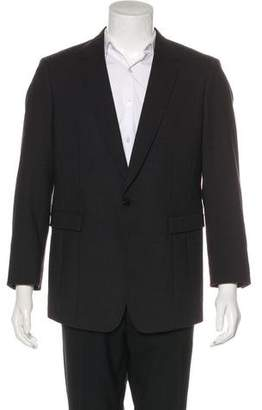 Emporio Armani Wool One-Button Blazer w/ Tags