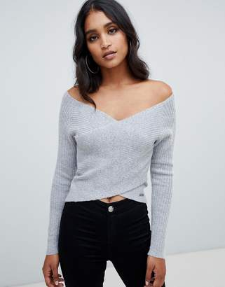 Lipsy Cross Front Sweater