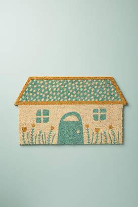 Anthropologie Glittered Home Doormat