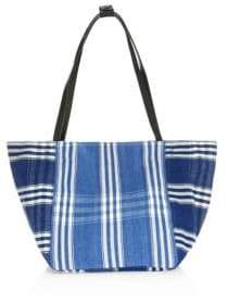 Elizabeth and James Fortune Striped Woven Tote Bag
