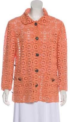 Dolce & Gabbana Embellished Guipure Lace Jacket