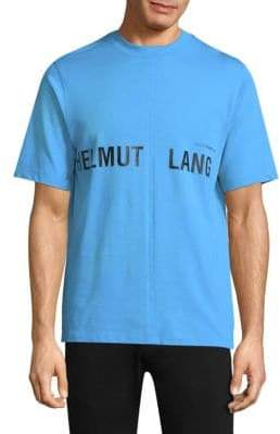 Helmut Lang Campaign Logo Graphic Tee