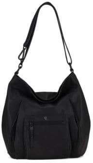 Elliott Lucca Vivien Leather Hobo Bag