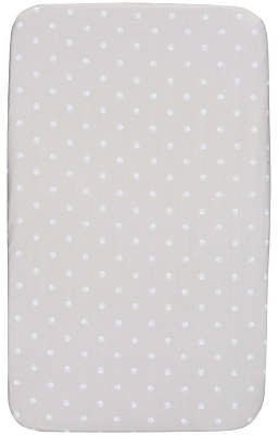 Chicco Next To Me Crib Fitted Sheets, Pack of 2, Paw Prints Silver