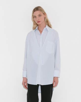 MM6 MAISON MARGIELA Tunic Shirt w/Removable Collar