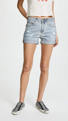 AG Jeans The Hailey Slouchy Roll Up Shorts