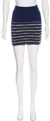 Pendleton Wool Mini Skirt