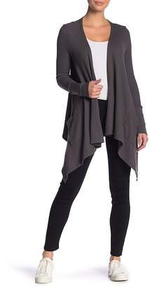 Splendid Thermal Drape Front Cardigan