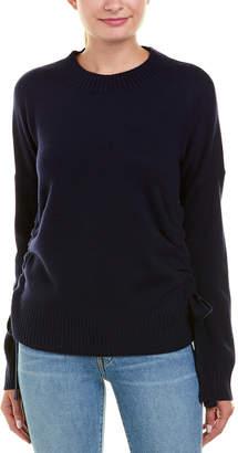 Derek Lam 10 Crosby Cinched Cashmere Sweater