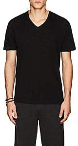 ATM Anthony Thomas Melillo Men's Cotton V-Neck T-Shirt - Black