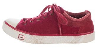 UGG Australia Evera Low-Top Sneakers $85 thestylecure.com