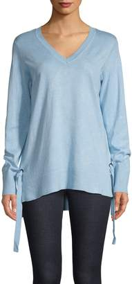 Jones New York V-neck High-Low Tunic