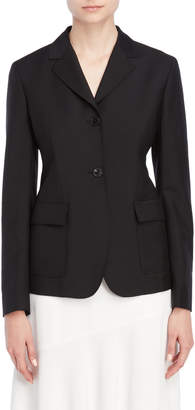 Jil Sander Black Fitted Blazer
