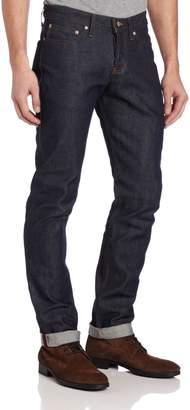 Naked & Famous Denim Men's WeirdGuy Low Rise Tapered Leg Jean In