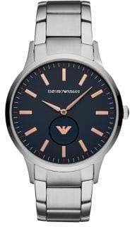 Emporio Armani Renato Stainless Steel Bracelet Dress Watch