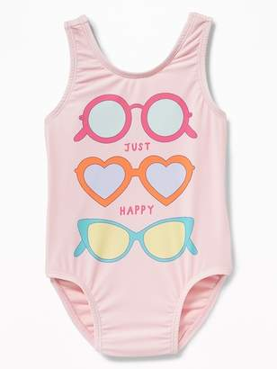 Old Navy Graphic Swimsuit for Toddler Girls