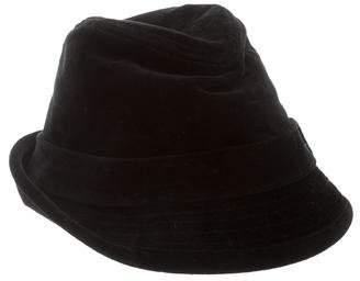 Eugenia Kim Velvet Fedora Hat