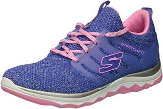 Skechers Girls' Diamond Runner-Sparkle Sprint Fitness Shoes,(34 EU)