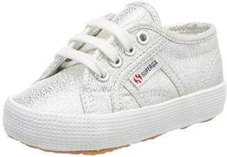 Superga Unisex Kids' 2750 LAMEBUMPJ Trainers, (Silver S031), 12.5UK Child
