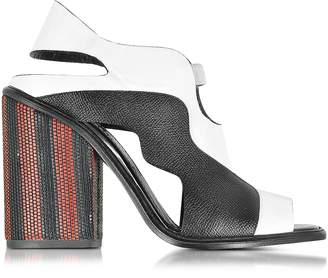 Proenza Schouler Color Block High Heel Sandal