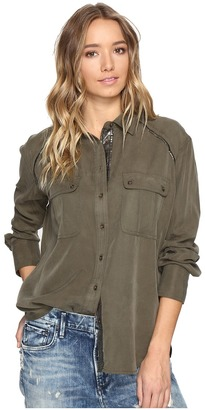 Free People Off Campus Button Down $108 thestylecure.com