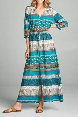 Racine Boho Maxi Dress