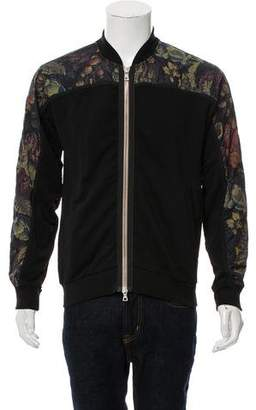 Dries Van Noten Abstract Print Bomber Jacket