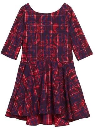 Tea Collection Culzean Plaid Dress (Toddler Girls, Little Girls & Big Girls)