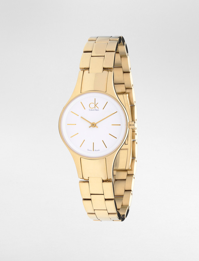 CK Simplicity Gold Watch