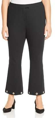 MICHAEL Michael Kors Grommet Cuff Flare Pants