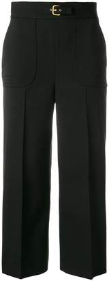 RED Valentino loose fit cropped trousers