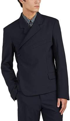 Martine Rose Men's Wrap One-Button Sportcoat