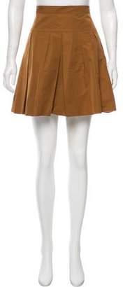 Derek Lam Pleated Mini Skirt