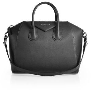 Givenchy Antigona Medium Leather Satchel $2,435 thestylecure.com