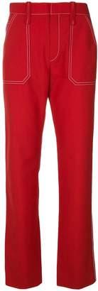 Chloé high-rise straight-leg trousers