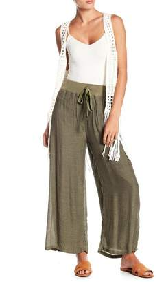 Papillon Drawstring Solid Pants