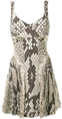 a5abdd7e38db Roberto Cavalli python print dress