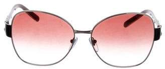 Bvlgari Embellished Gradient Lenses
