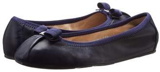 Salvatore Ferragamo Nappa Flex Ballerina Flat Women's Slip on Shoes