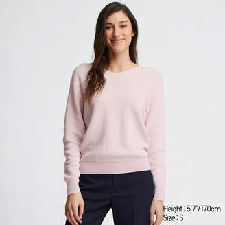 Uniqlo WOMEN Cotton Cashmere V Neck Sweater