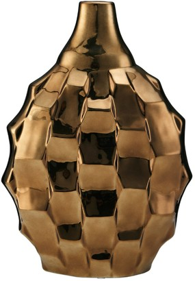 Element Rippled Ceramic Vase